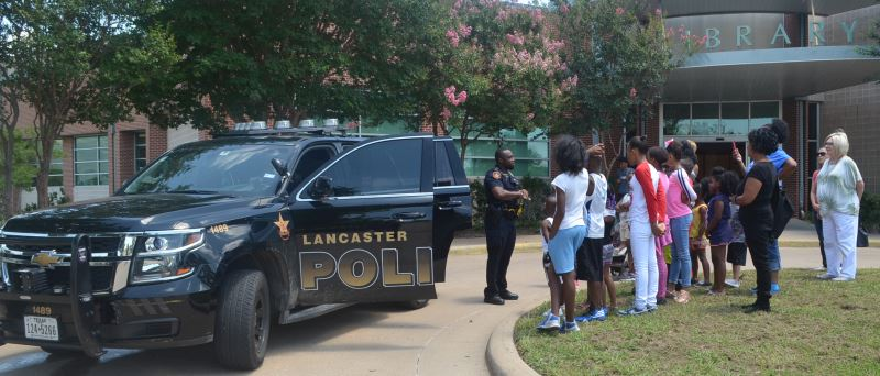 Police with Citizens