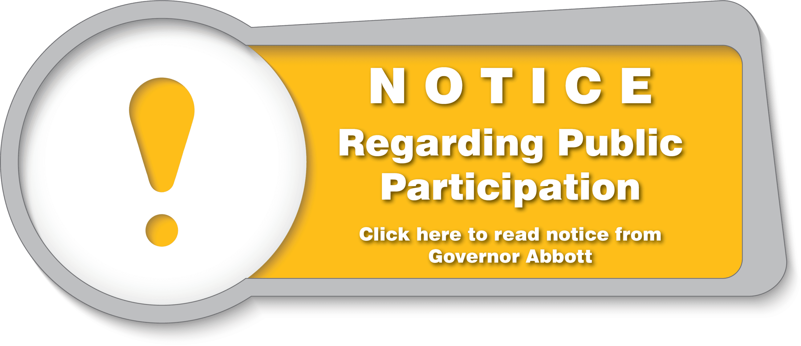 Notice of Public Participation